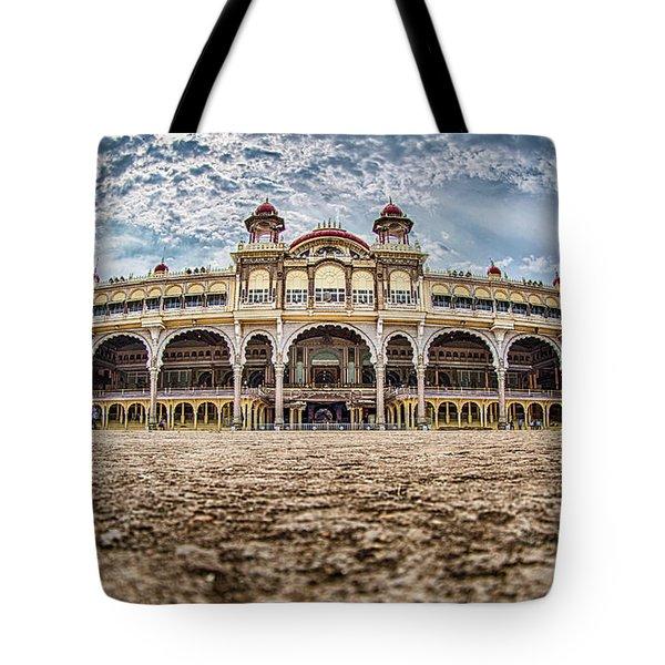 Mysore Palace Tote Bag