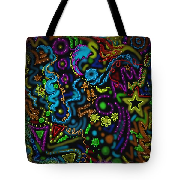 Mysteries Of The Night Tote Bag by Kevin Caudill
