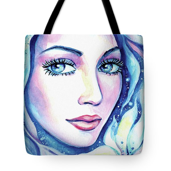 Mysterious Flower Tote Bag