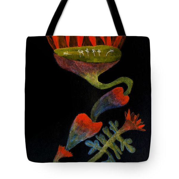 Mysterious Tote Bag by R Kyllo
