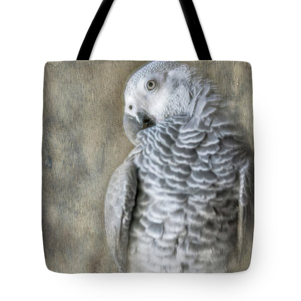 Mysterious Parrot Tote Bag