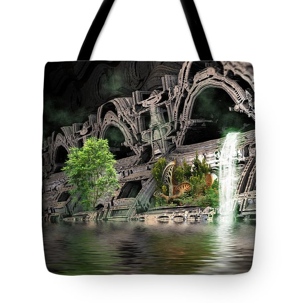 Mysterious Place Tote Bag