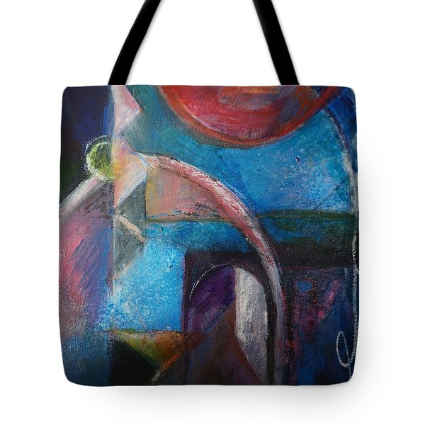 Mysterious Portal Tote Bag