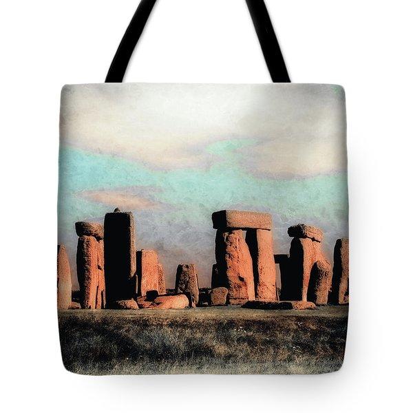 Mysterious Stonehenge Tote Bag