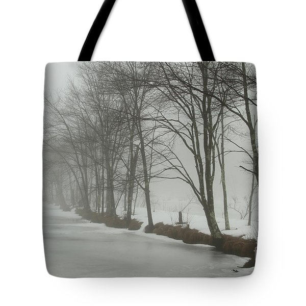 Mysterious Winter  Tote Bag by Karol Livote