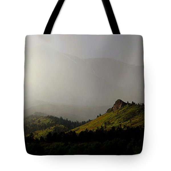 Tote Bag featuring the photograph Mysteriously by Silke Brubaker