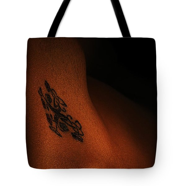 Mystery Awaits Tote Bag