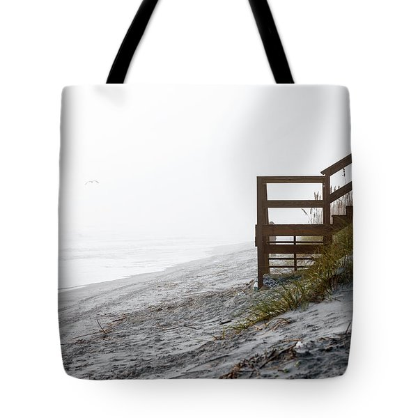 Tote Bag featuring the photograph Mystery Beach by Anthony Baatz