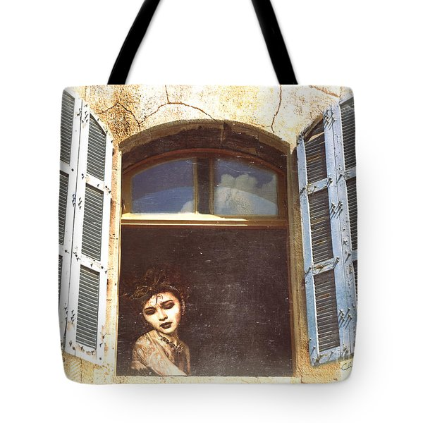 Tote Bag featuring the photograph Mystery by Chris Armytage