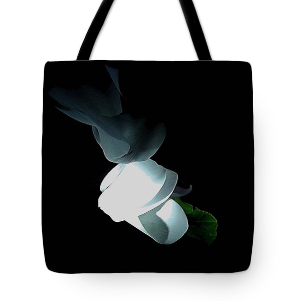 Mystery Flower Tote Bag