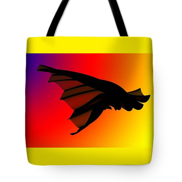Mystery In Flight Tote Bag