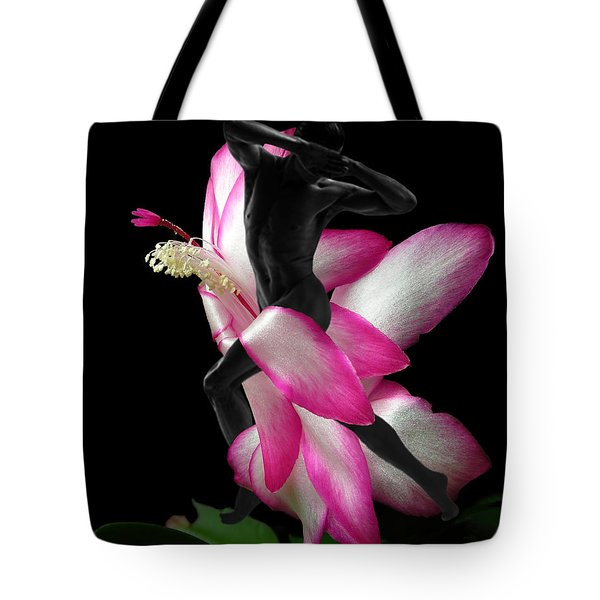 Mystery Man Tote Bag by Torie Tiffany