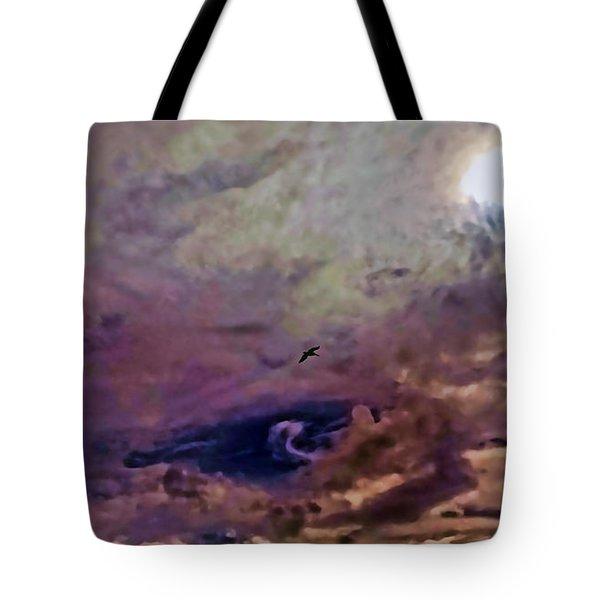 Mystery Sky Tote Bag