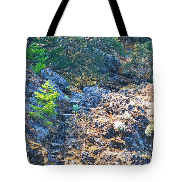 Mystery Stairs Tote Bag
