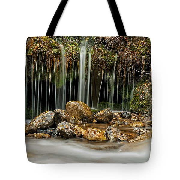 Mystery Stream Tote Bag