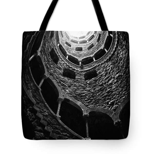 Mystery Tower Tote Bag