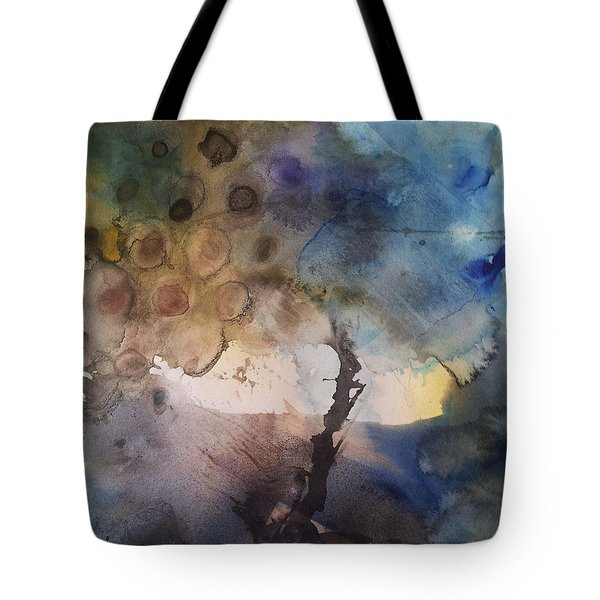 Mystery Tree Tote Bag