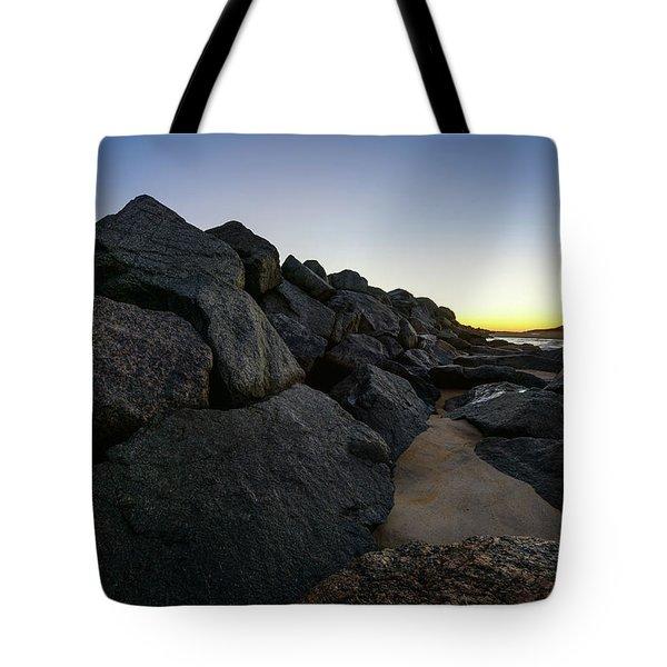 Mystic Beach Tote Bag