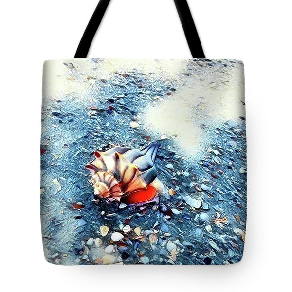 Mystic Conch Tote Bag