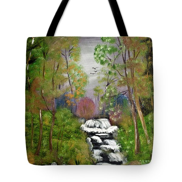 Mystic Fall Tote Bag