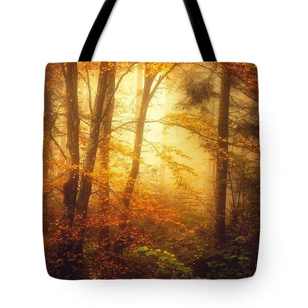 Mystic Fog Tote Bag