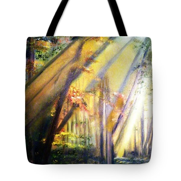 Mystic Forest Black Forest Germany Tote Bag by Debbie