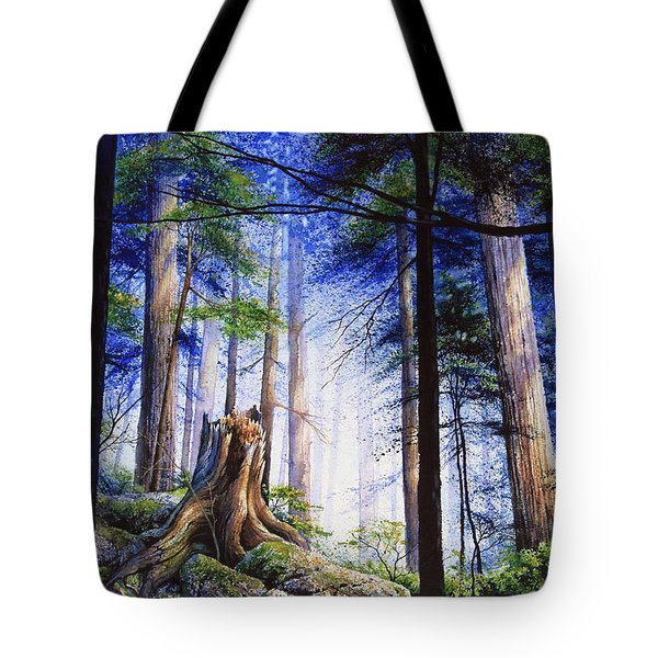Mystic Forest Majesty Tote Bag by Hanne Lore Koehler