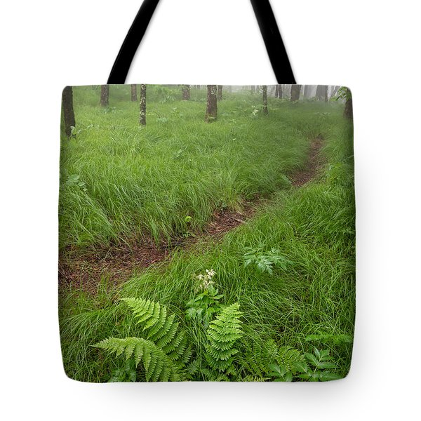 Mystic Greens Tote Bag by Anthony Heflin