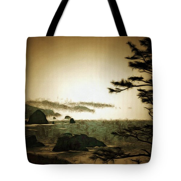Mystic Landscapes Tote Bag