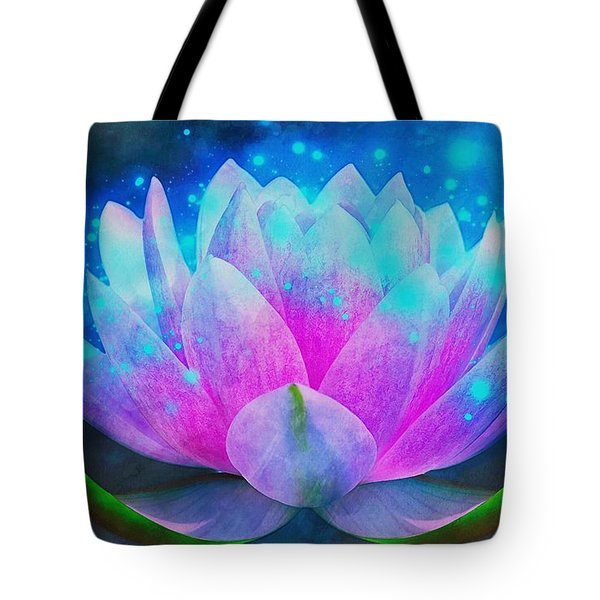 Mystic Lotus Tote Bag