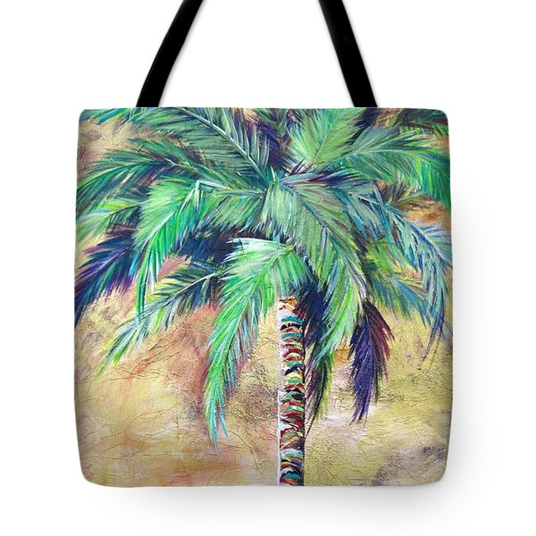 Mystic Palm Tote Bag by Kristen Abrahamson
