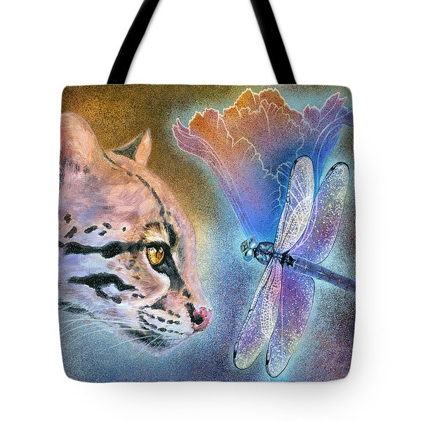 Tote Bag featuring the painting Mystic by Ragen Mendenhall