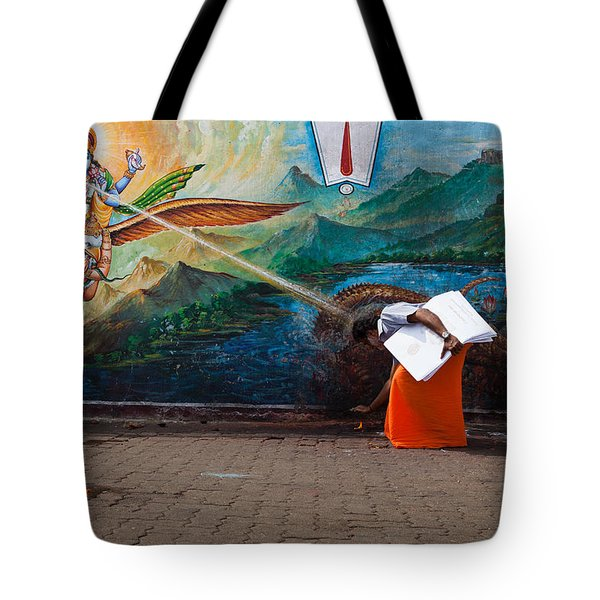 Mystic Ray Tote Bag