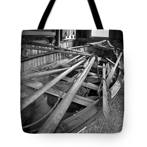 Mystic Seaport Whaling Boat Tote Bag