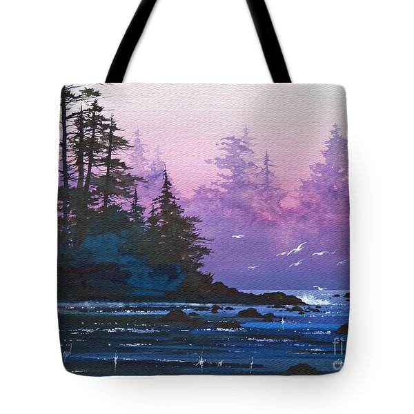Mystic Shore Tote Bag by James Williamson