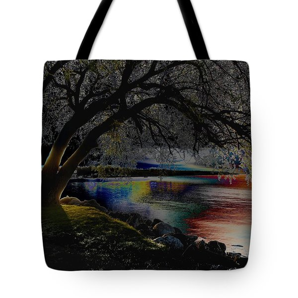 Mystic Sunset Cereal Tote Bag