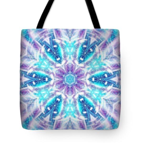 Tote Bag featuring the digital art Mystic Universe 1 Kk2 by Derek Gedney