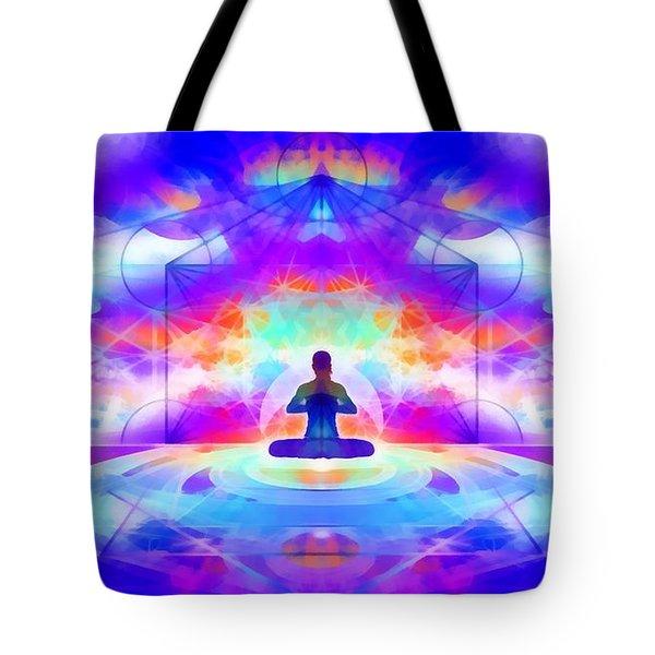 Tote Bag featuring the digital art Mystic Universe 10 by Derek Gedney