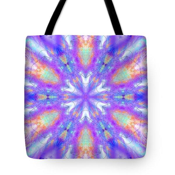 Tote Bag featuring the digital art Mystic Universe 10 Kk2 by Derek Gedney
