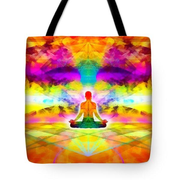Tote Bag featuring the digital art Mystic Universe 11 by Derek Gedney