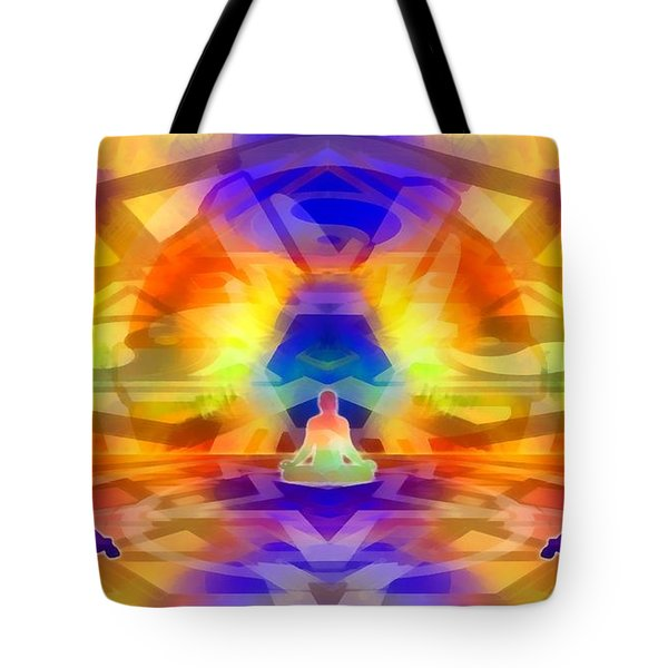 Tote Bag featuring the digital art Mystic Universe 12 by Derek Gedney