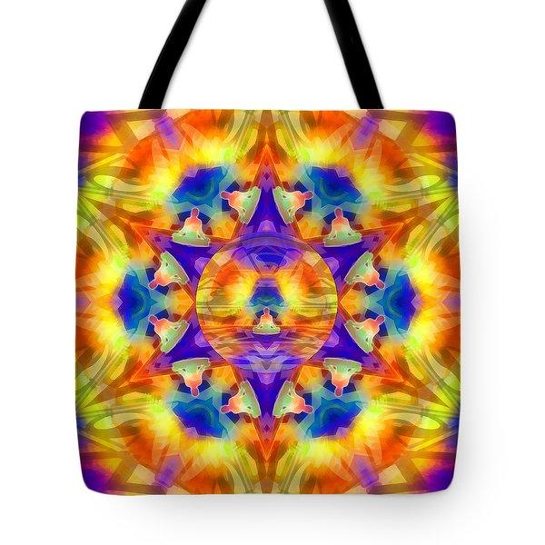 Tote Bag featuring the digital art Mystic Universe Kk 12 by Derek Gedney