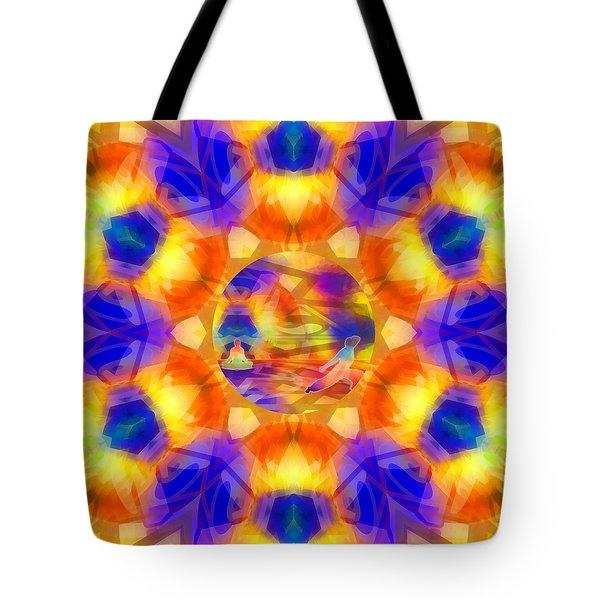 Tote Bag featuring the digital art Mystic Universe 12 Kk2 by Derek Gedney