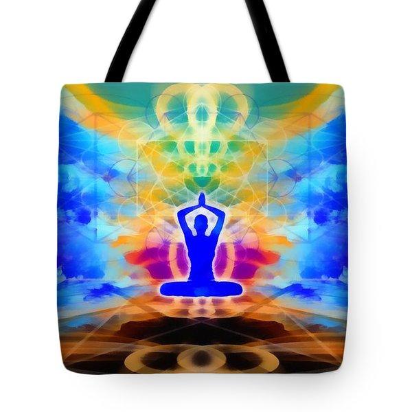 Tote Bag featuring the digital art Mystic Universe 13 by Derek Gedney
