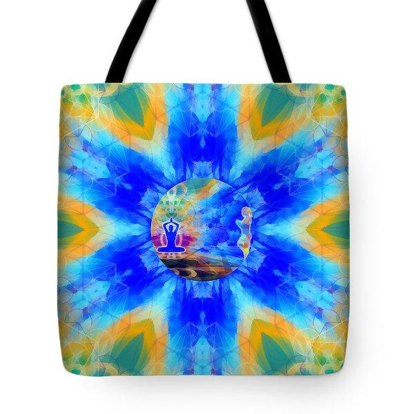 Tote Bag featuring the digital art Mystic Universe 13 Kk2 by Derek Gedney