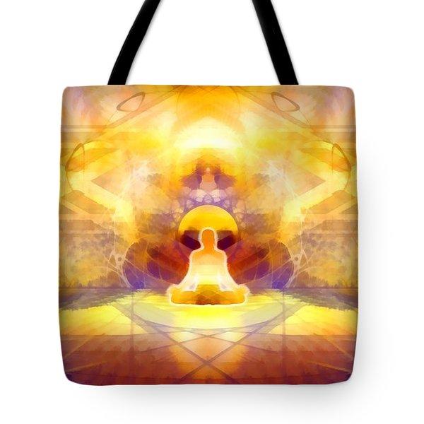 Tote Bag featuring the digital art Mystic Universe 14 by Derek Gedney
