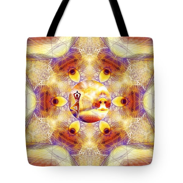 Tote Bag featuring the digital art Mystic Universe 14 Kk2 by Derek Gedney