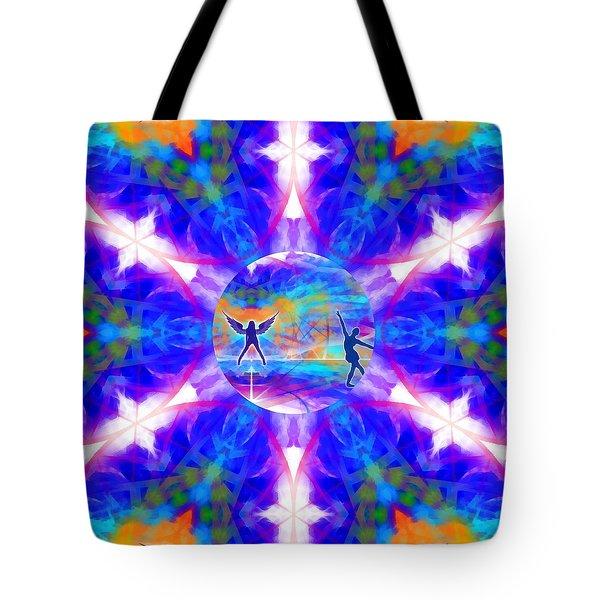 Tote Bag featuring the digital art Mystic Universe 15 Kk2 by Derek Gedney