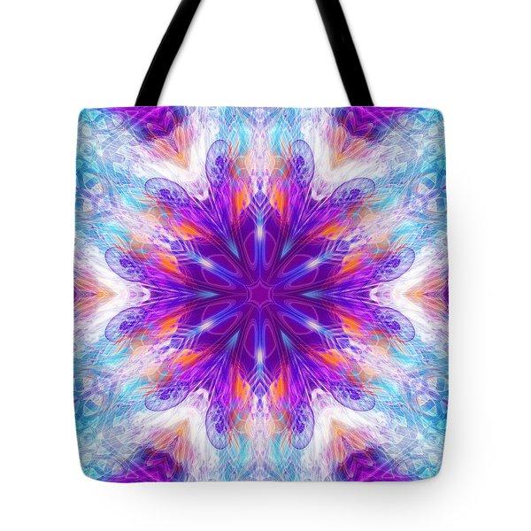 Tote Bag featuring the digital art Mystic Universe 2 Kk2 by Derek Gedney