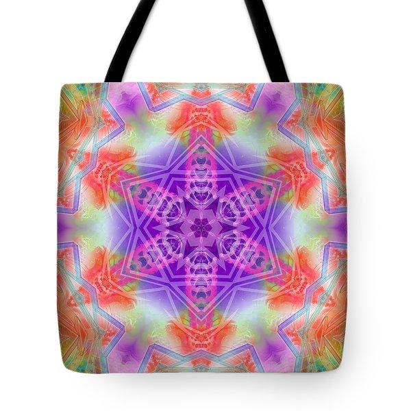 Tote Bag featuring the digital art Mystic Universe 3 Kk2 by Derek Gedney